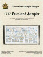 10% Off Queenstown Sampler Designs X-stitch chart - 1717 Friesland Sampler
