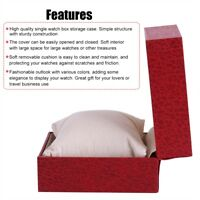 Fashion Present Gift Box Case For Bangle Jewelry Rings Earrings Wrist Watch Box