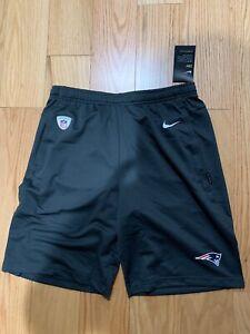 Nike NFL Men's New England Patriots Dri-FIT Coach Shorts Size S BNwT AO3139-060