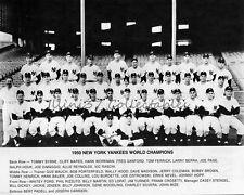 1950 NEW YORK YANKEES BASEBALL WORLD SERIES CHAMPIONS 8X10 TEAM PHOTO
