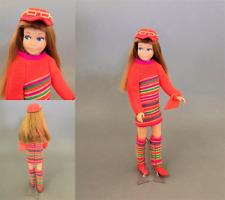 Vintage Skipper Barbie's Sister Dolls, Clothing & Accessories Display Ready