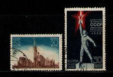 RUSIA/URSS RUSSIA/USSR 1939 USED SC.714/715  New York World Fair