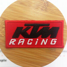 TOPPA KTM PATCH RICAMATO TERMOADESIVO CM. 7X3