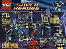 NUOVO SIGILLATO LEGO 6860 Super Heroes Batman il Bat-Caverna Poison Ivy Bane BRUCE WAYNE
