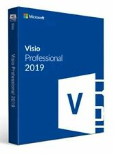 Microsoft Visio 2019 Professional FOR 1 PC GENUINE Visio 2019 key