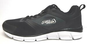 Fila Size 11 Black Running Sneakers New Mens Shoes