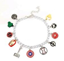 Unusual Eleven Charm Marvel Avengers Bracelet Super Hero Bracelet  576