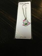Hello Kitty Pendant Necklace Free Chain Kids Jewelry NewW/o Tags From USA