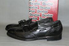 NEW Men's Dexter Adams Size 12 Medium, Black Leather Slip on Dress Shoes
