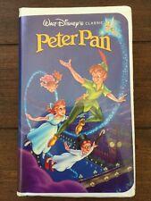 Rare Vintage Peter Pan (VHS) Walt Disney's Black Diamond Classic