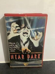 NEAR DARK. 1987 VHS/PAL ROADSHOW.  HORROR. ORIGINAL CLAM. RARE. REVERSE JACKET