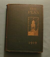 1919 PHILLIPS EXETER ACADEMY ANNUAL YEARBOOK Pean