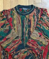 Vtg 90s Protege Collection Coogi Style Cosby Sweater Sz L Men's Crewneck