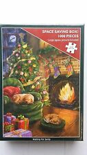 OTTER HOUSE JIGSAW PUZZLES 1000pc CHRISTMAS  WAITING FOR SANTA ( NEW ) £9.99