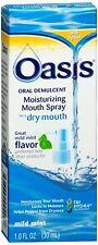 Oasis Moisturizing Mouth Spray Mild Mint 1 oz (Pack of 6)