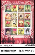 INDIA - 2017 HEADGEARS OF INDIA - Miniature sheet MINT NH