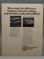 Vintage Magazine Ad Print Design Advertising Phillips 66 Petroleum