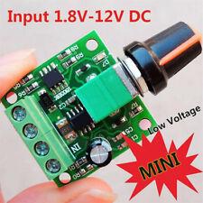 PWM DC Motor Speed Controller 1.8v 3v 6v 12v 2A  Low Voltage Module For Arduino