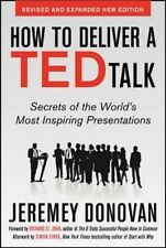 How to Deliver a TED Talk By Jeremey Donovan Paperback Free Shipping