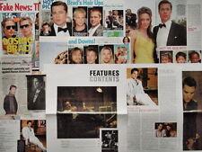 HOLLYWOOD ACTORS - CELEBRITIES (Brad Pitt, Robert de Niro) Press Clippings