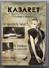 Patricia Kaas Kabaret Live Au Casino De Paris - DVD (Region: 0)