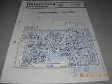VALIGIA TELEFUNKEN RADIO BAJAZZO cr800 schema elettrico