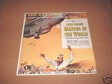 MASTER OF THE WORLD Soundtrack LP Les Baxter Vee Jay 61