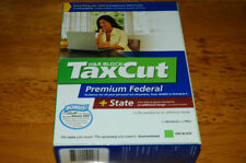 2007 TaxCut DELUXE Premium turbo Federal & State H&R Tax Cut New sealed CD!