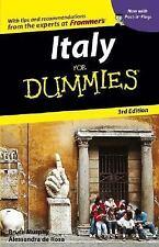Italy For Dummies (Dummies Travel), Murphy, Bruce, de Rosa, Alessandra, 07645738