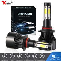 2x H7 LED Phare de Voiture Ampoule Headlight 200W 30000LM Xénon Blanc 6500K HID
