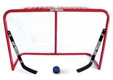 "Bauer- BASE Street Goal 32"" inkl. 2 Ministicks and Softball. Streethockey. Feld."