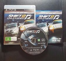 Need For Speed Shift 2 Unleashed (Sony PlayStation 3, 2011) PS3 - FREE POST