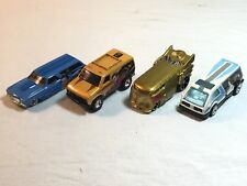 4 Hotwheels Star Trek Star Wars Real Riders Redlines Die Cast C3PO Princess Chev