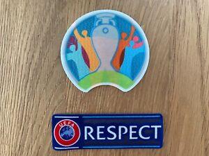 UEFA EURO EM 2020 Patch Badge Set Fußball Trikot Jersey Deutschland Sticker