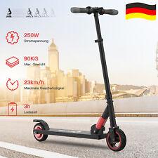 E Scooter Kinder ElektroRoller Klappbar 250W Cityroller Kickroller mit LED Licht