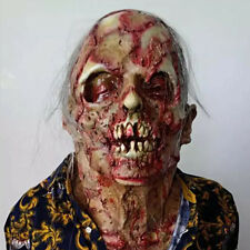 2016 HALLOWEEN ADULT THE DREADED Zombie Horror Scary Monstre Momie Masque Prop
