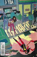 Ms. Marvel Comic Issue 14 Modern Age First Print 2015 Wilson Miyazawa Herring