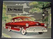 1953 DeSoto Catalog Sales Brochure Fire Dome Powermaster Excellent Original 53