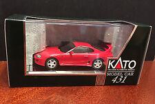 Kato Toyota Supra 1:43 1/43 Red Model New in Box