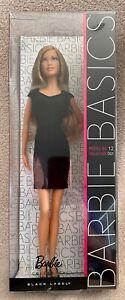 Barbie Basics - Model No 12 - Collection 001 - Black Label - NRFB - MINT