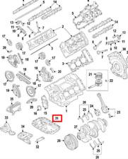 Porsche Cayenne 92A Inférieur Carter Huile 95810705510 Neuf Original