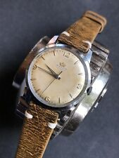 1950s Marvin Hermetic Swiss Manual Mens Watch 35mm