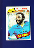 Ellis Valentine 1980 TOPPS Baseball #395 (NM) Montreal Expos