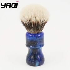 "Yaqi ""Two Band Badger"" Shaving Brush 24MM Mysterious Space Handle"