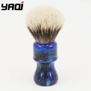 """Yaqi """"Two Band Badger"""" Shaving Brush 24MM Mysterious Space Handle"""