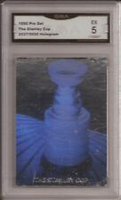 1990 NHL Stanley Cup Hologram Card By Pro Set #2537 Of 5000 Rare Hockey Card