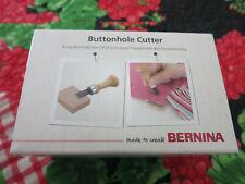New listing Bernina Buttonhole Cutter with Wooden Block Nib