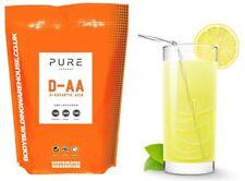 Pure D-Aspartic Acid Powder Natural DAA Testosterone Booster 100g Lemon Sherbert