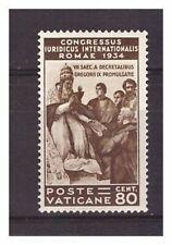 s16608) VATICANO 1935 MXLH* Nuovi Linguellati* Giuridico L.1,25 1v siglato