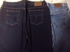 Ladies Ralph Lauren Jeans 2 Pair Adult Size 16 35 Waist x 29 Length Pew-owned!